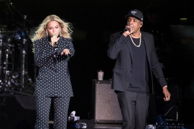 Beyoncé et Jay-Z, en 2016.... (PHOTO MATT ROURKE, ARCHIVES AP)