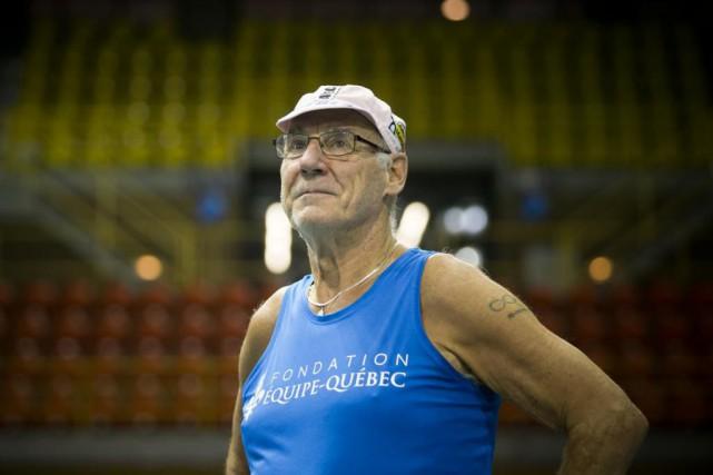 Marcel Jobin participera aux Mondiaux d'athlétisme en salle... (PHOTO FRANÇOIS ROY, LA PRESSE)