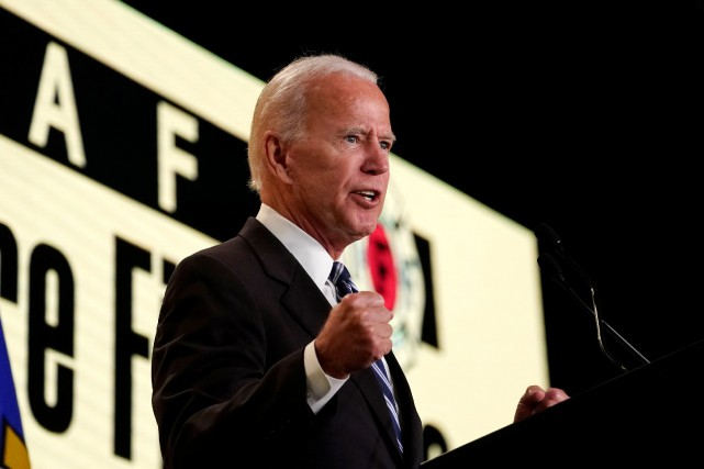 Joe Biden évoque une possible candidature à la Maison-Blanche