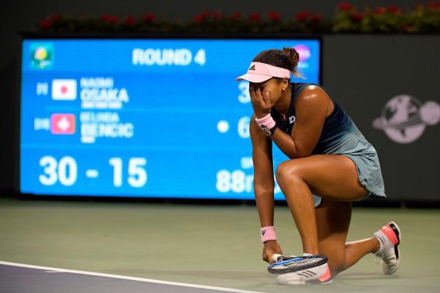 Indian Wells: la tenante du titre Naomi Osaka éliminée