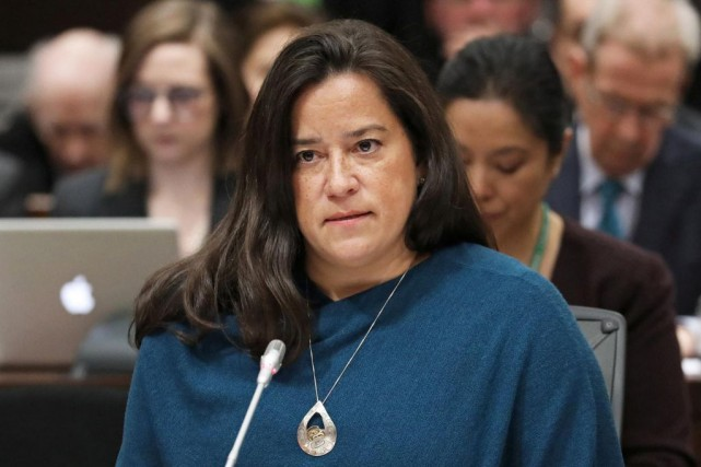 Jody Wilson-Raybould, ex-ministre de la Justice... (PHOTO CHRIS WATTIE, ARCHIVES REUTERS)