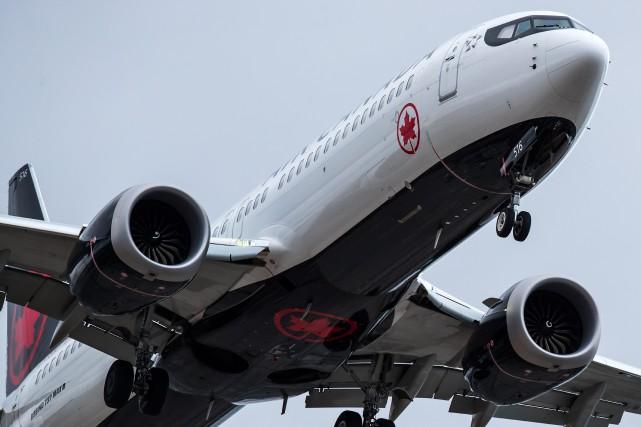 Ottawa cloue au sol les Boeing737 MAX