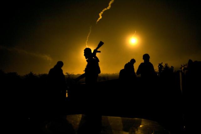 Les FDS sont engagées depuis décembre dans une... (PHOTO AP)