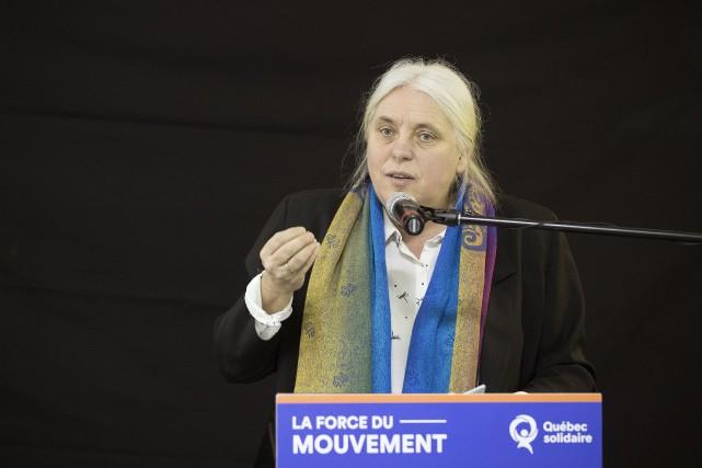 «L'indépendance du Québec est nécessaire pour être capable... (PHOTO ROBERT SKINNER, LA PRESSE)