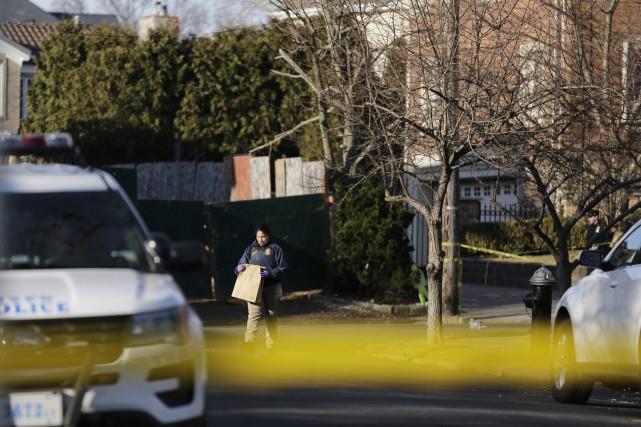 L'assassinat de Frank Cali intervient quelques jours après... (PHOTO AP)