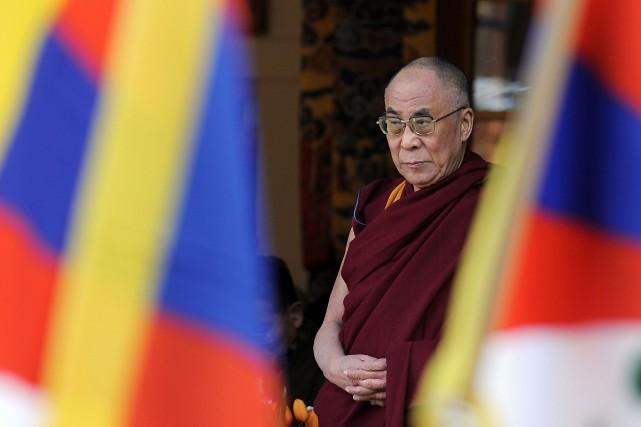 Le Dalaï-Lama.... (PHOTO MANAN VATSYAYANA, ARCHIVES AFP)