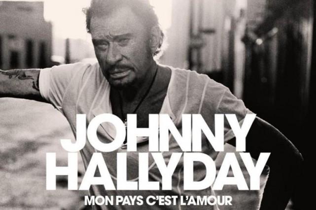 Mon pays c'est l'amour, deJohnny Hallyday... (IMAGE FOURNIE PARWARNER MUSIC FRANCE)