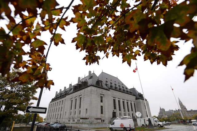 Par ce jugement rendu vendredi, la Cour suprême... (PHOTO JUSTIN TANG, ARCHIVES LA PRESSE CANADIENNE)