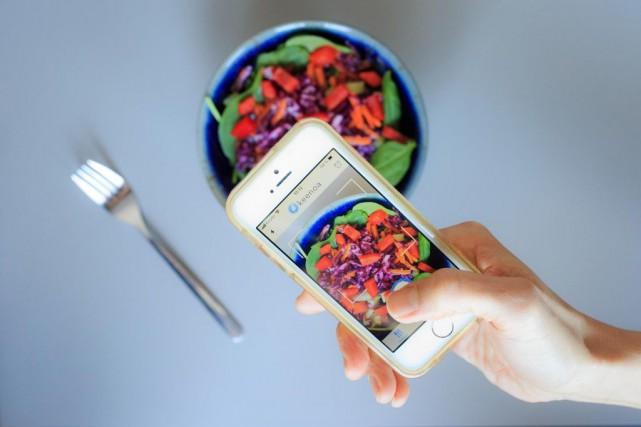 L'application Keenoa permet de tenir un journal alimentaire... (PHOTO EDOUARD PLANTE-FRÉCHETTE, LA PRESSE)