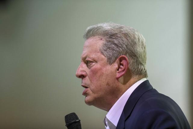 L'ancien vice-président Al Gore estime que les États-Unis se rapprochent d'un... (PHOTO JULIE BENNETT, AP)