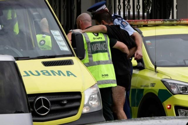 «La tuerie en Nouvelle-Zélande est d'autant plus troublante... (PHOTO MARK BAKER, ASSOCIATED PRESS)