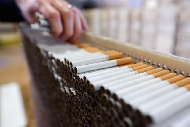 Dans sa requête en cour, Imperial Tobacco fait... (CHRIS RATCLIFFE, BLOOMBERG)
