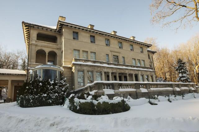 La maison John-Wilson-McConnell, située à Montréal, est à... (PHOTO OLIVIER JEAN, LA PRESSE)