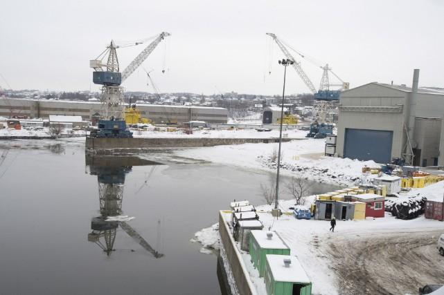 Le chantier naval Davie a bon espoir d'obtenir deux contrats
