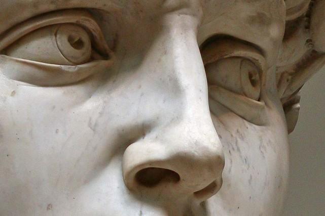 Le nez, selon Michel-Ange....