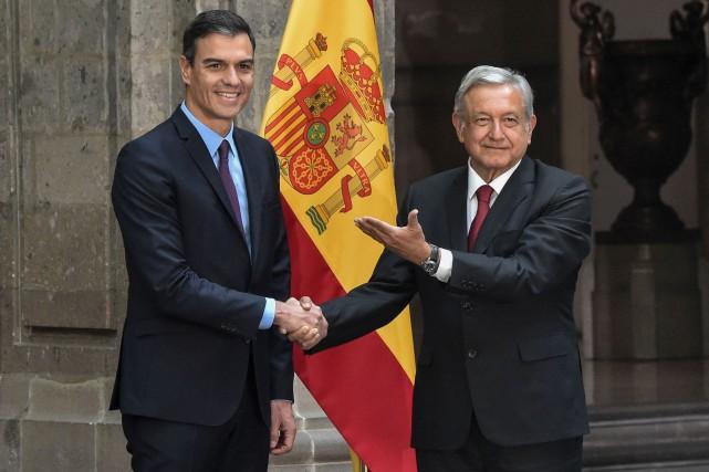 Le Mexique veut des excuses pour les «abus» coloniaux, l'Espagne refuse