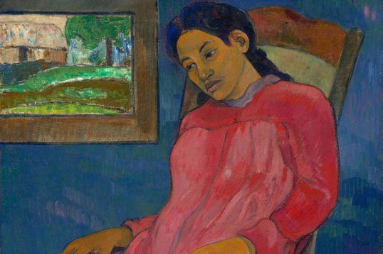 La boudeuse (Faaturuma), 1891, Paul Gauguin (1848-1903), huile... (PHOTO CHRIS BJULAND ET JOSHUA FERDINAND, FOURNIE PAR LE MBAC)