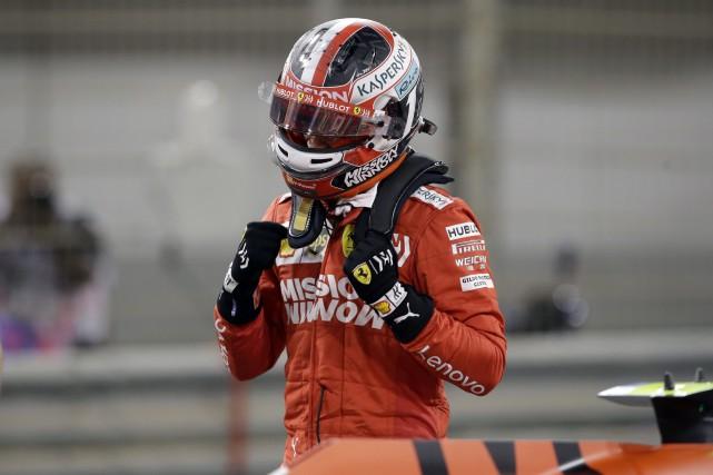 GP de Bahreïn: Charles Leclerc obtient sa première pole en carrière