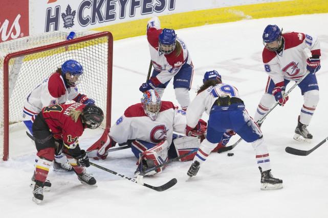 C'est le circuit dans lequel évoluent les Canadiennes... (PHOTO CHRIS YOUNG, LA PRESSE CANADIENNE)