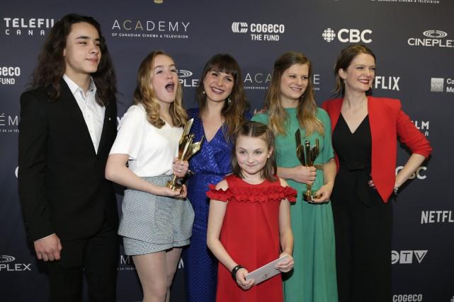 Une colonie primée aux Prix Écrans canadiens
