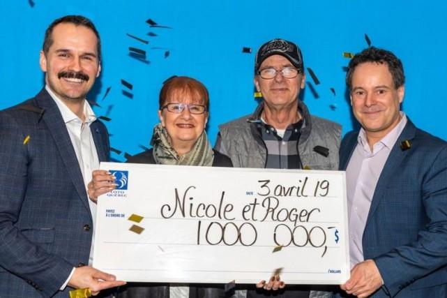 Un couple gagne 1 million de dollars in extremis