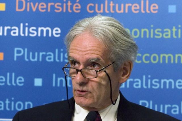 Gérard Bouchard est le coauteur du rapport de... (PHOTO FRED CHARTRAND, ARCHIVES LA PRESSE CANADIENNE)