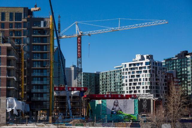 Tant au Québec qu'à Montréal, l'augmentation du volume... (PHOTO MARTINTREMBLAY, LA PRESSE)