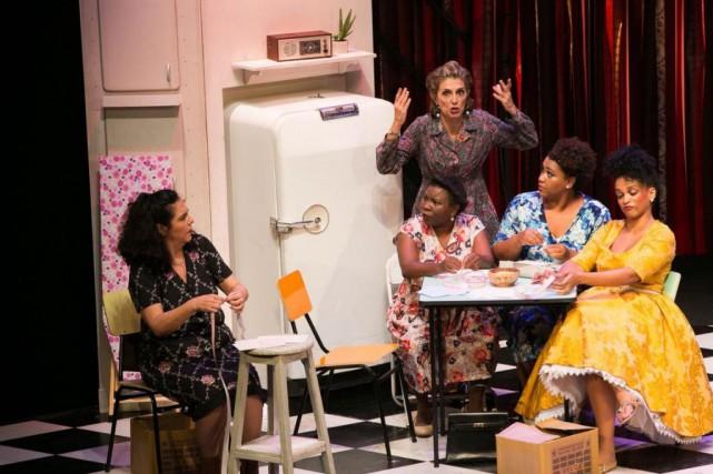 La comédie musicaleBelles-Soeurs (As Comadres) est présentée au... (PHOTO LINASUMIZONO, FOURNIE PAR LA PRODUCTION)