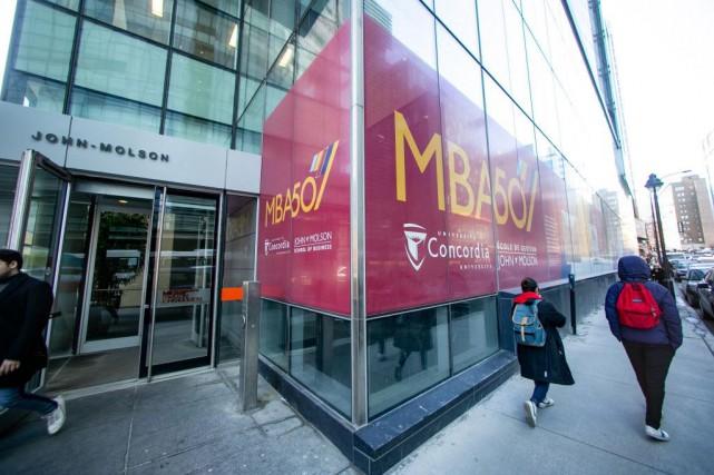 L'Université Concordia apparaît dans le premier tiers du... (PHOTO DAVID BOILY, LA PRESSE)