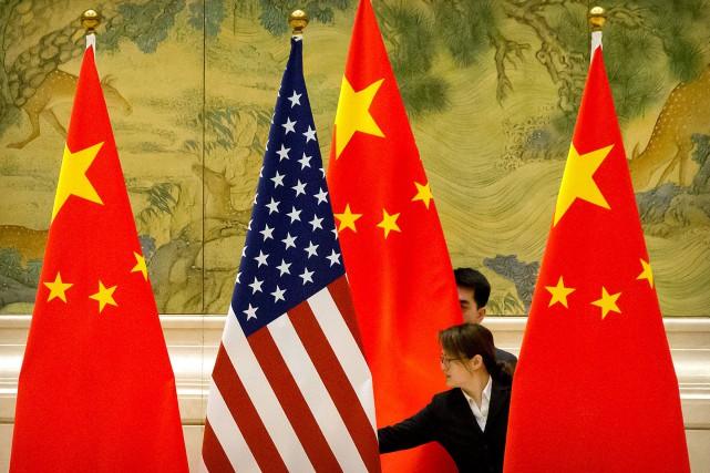 Un Brexit sans accord profiterait largement à la Chine et aux États-Unis,... (PHOTO ARCHIVES REUTERS)