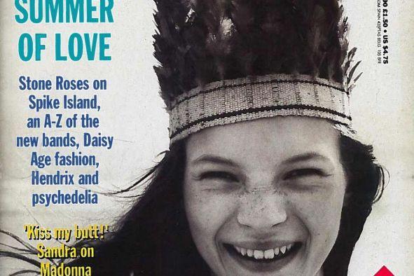 Kate Moss en couverture du magazine The Face,... (PHOTO TIRÉE DU SITE WEB DU NEW YORK TIMES)