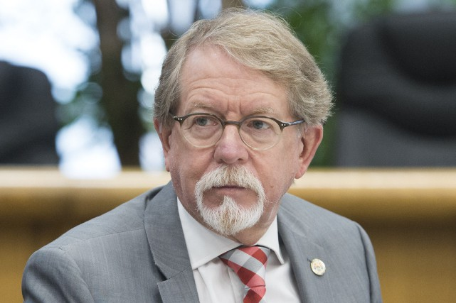 Le maire d'Hampstead, William Steinberg.... (PHOTO GRAHAM HUGHES, LA PRESSE CANADIENNE)