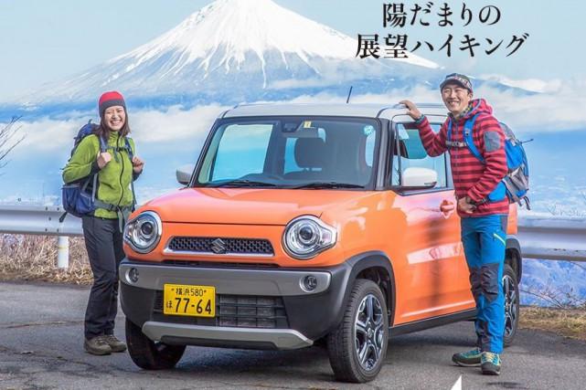 Une photo publicitaire d'un modèle Suzuki.... (PHOTO SUZUKI)