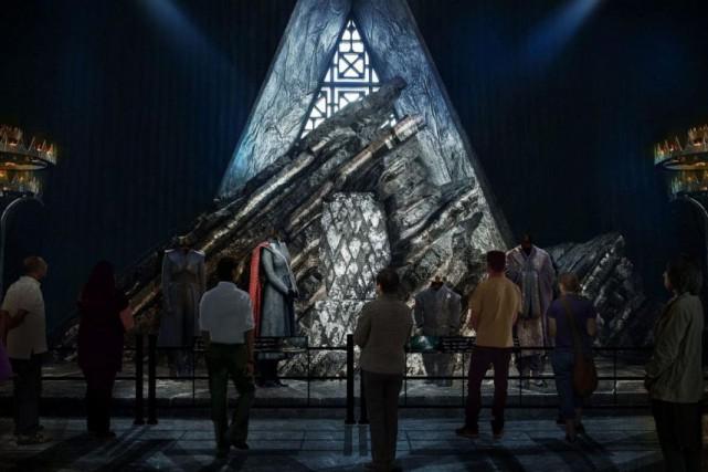 La salle du trône de la forteresse de... (PHOTO FOURNIE PAR HBO)