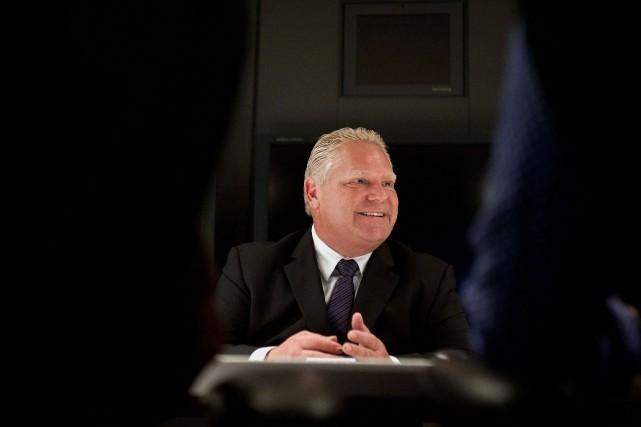 Le premier ministre ontarien, Doug Ford... (PHOTO GALIT RODAN, BARCHIVES LOOMBERG)