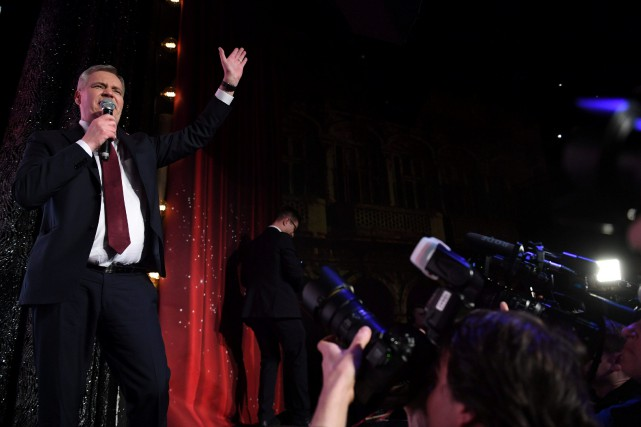 Les sociaux-démocrates ont remporté dimanche les élections législatives en... (PHOTO REUTERS)