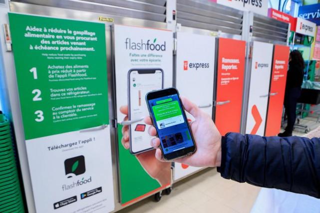 Depuis ce mois-ci, Flashfood est présente dans 113supermarchés... (PHOTO ALAIN ROBERGE, LA PRESSE)