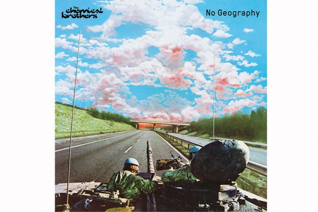 No Geography, de The Chemical Brothers... (IMAGE FOURNIE PAR UNIVERSAL MUSIC)