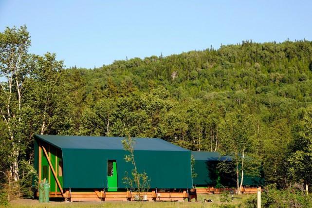De nouvelles unités de prêt-à-camper Étoile seront offerts... (PHOTO BERNARD BRAULT, ARCHIVES LA PRESSE)
