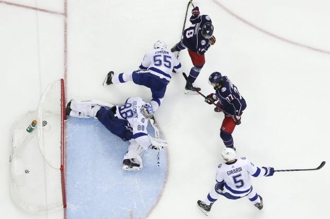 Quatre fois seulement dans l'histoire une équipe de... (PHOTO JAY LAPRETE, ASSOCIATED PRESS)