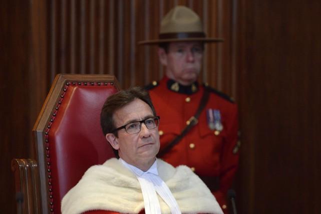 Clement Gascon siégeait à la Cour suprême depuis... (PHOTO ADRIAN WYLD, ARCHIVES LA PRESSE CANADIENNE)