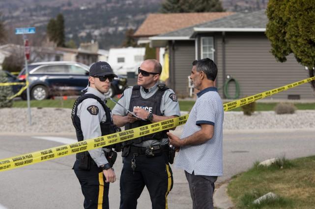 Un homme de 60 ans est en garde... (PHOTO JEFF BASSETT, LA PRESSE CANADIENNE)