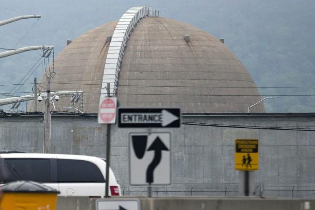 Le site nucléaire d'Indian Point à Buchanan.... (PHOTO CRAIG RUTTLE, AP)