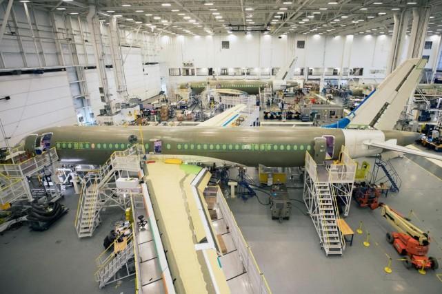 Selon le directeur principal de l'innovation chez Bombardier,... (PHOTO ROBERT SKINNER, ARCHIVES LA PRESSE)