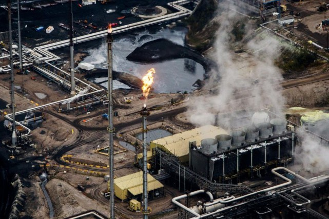 La production de pétrole bitumineux en Alberta a... (PHOTO BEN NELMS, ARCHIVES BLOOMBERG)