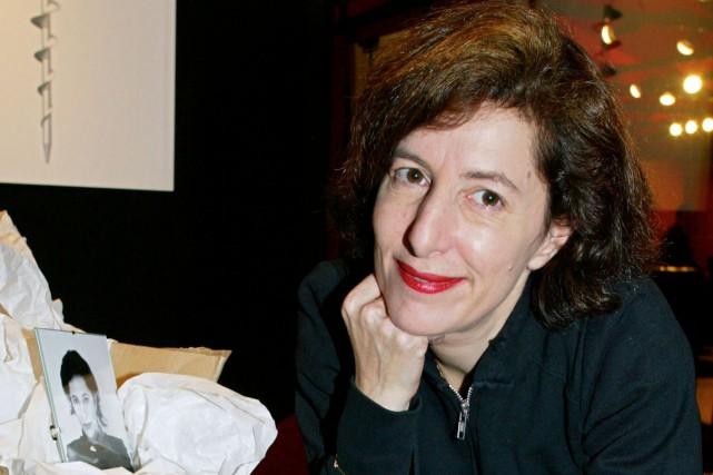 Corinne Cobson, créatrice de mode anticonformiste des années1990... (PHOTO PIERRE VERDY, ARCHIVES AFP)