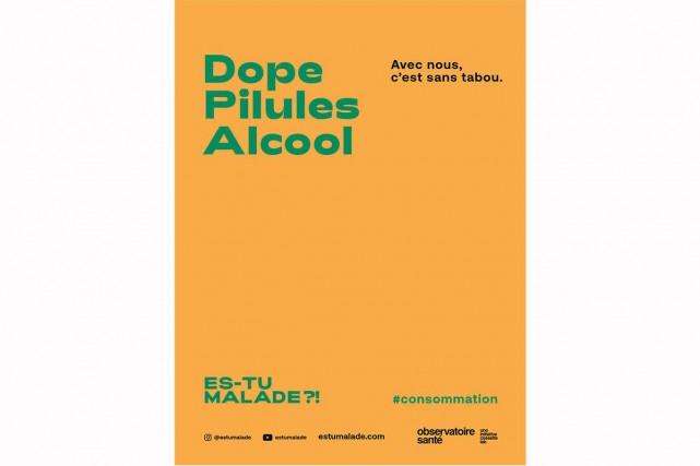 La capsule Dope, pilules, alcool... (IMAGE FOURNIE PAR LECOSSETTE LAB)