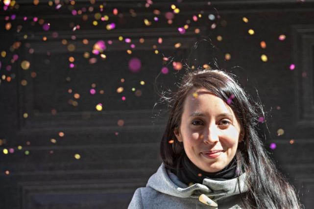 Marie-Ève Thuot est plutôt de nature optimiste et... (PHOTO PATRICK SANFAÇON, LA PRESSE)