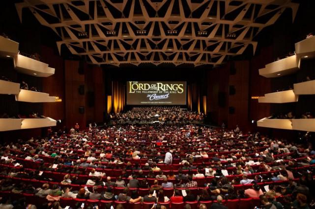 Quelque 6000 spectateurs ont assisté aux deux interprétations... (PHOTO FOURNIE PAR GFN)