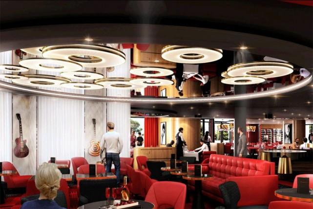 Le Fouquet's de Montreux... (PHOTO TIRÉE DU SITE WEB DE DESIGN STUDIO)